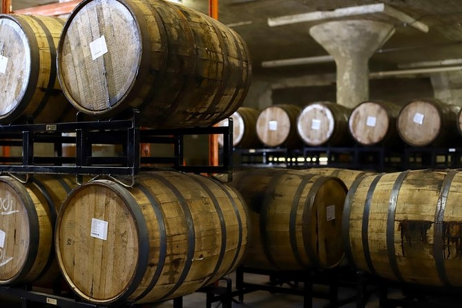 Barrels from the Distillery