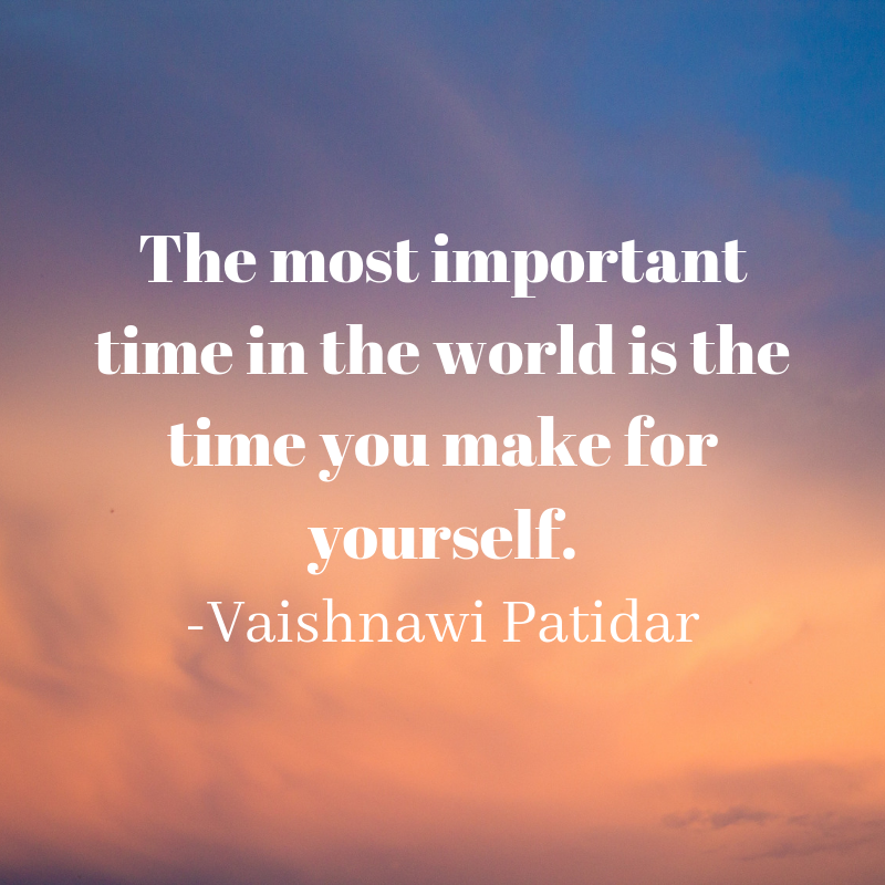 Time For You Quote