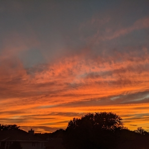 Paint the Sky with Fire
