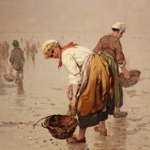 Crab Fisher- by Edward Henry Potthast