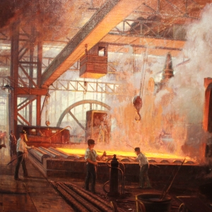 The rolling mill- by Alexander Kircher